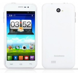 goophone X1 front back white